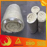 30mm-100mm thermische Wärmeisolierung-Material-Felsen-Wolle-Zudecke für Groß-Kaliber Rohrleitung