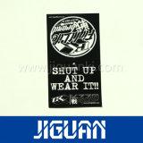 Os acessórios de roupa de Pupular vendem por atacado o Tag de papel feito sob encomenda barato do cair da impressão
