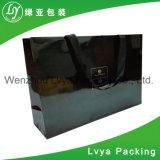 La calidad de impresión personalizada cartón Compras bolsa de papel con asa