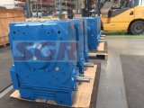 Alta densidad de potencia Engranaje reductor, diseñado para la aplicación de servicio pesado