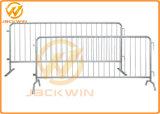 Cerca portable galvanizada Caliente-Sumergida del acoplamiento para el control de muchedumbre