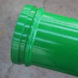Tuyau en acier galvanisé de fer Tube Gi le tuyau de pompe à béton