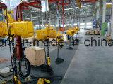 Gru Chain elettrica con il carrello riparato alla gru