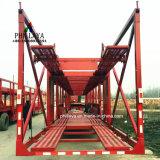 Dei 2 pavimenti di caricamento di rimorchio del camion rimorchio idraulico dell'elemento portante di automobile semi