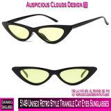 5149 óculos de sol retros unisex dos olhos de gato do triângulo do estilo