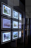 Affichage LED lumineux lumière poches pour l'agent immobilier