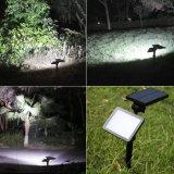 48 LED-Mikrowellen-Radar-Bewegungs-Fühler-Solargarten-Rasen-Licht