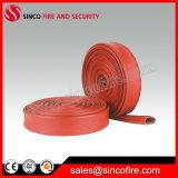 La couleur rouge feu Flexible avec raccords de tuyau d'incendie BS