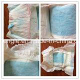 Tecidos elevados feitos sob encomenda por atacado do bebê da absorvência descartáveis