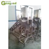 La leche de coco jugo Semi-corte de la excisión de la mitad de extracción de agua corte el procesamiento del equipo de la línea de producción