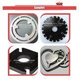 Aço inoxidável // aço carbono de alumínio máquina de corte a Laser de fibra óptica