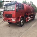 Abwasser sauberes Truck Vakuumsaugventil-Tanker-LKW für Verkauf