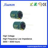 350V de Elektrolytische Condensator van de Hoge Frequentie van de 2.2UFHoogspanning