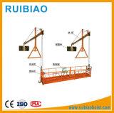 Piattaforma sospesa industriale della corda d'acciaio