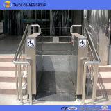 Tavolのセリウムの小さいホームエレベーターの上昇の油圧屋外の上昇のエレベーター