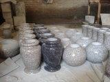 最もよい品質の販売の安い価格のための中国の円形の花こう岩のつぼ