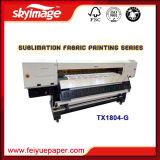 Impressora por sublimação de tinta digital Oric 1,8m com 4DX 5 cabeças de impressão