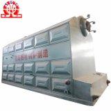 A baixa pressão do cilindro dobro Corrente-Raspa a caldeira despedida de carvão pequeno