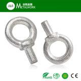 Boulon d'oeil galvanisé d'acier du carbone de M20 M27 Grade8.8 DIN580