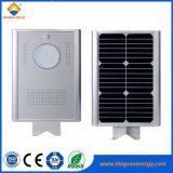8W Iluminación Solar Sistema de energía solar Calle luz LED con certificado TUV