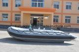 Bote de salvamento inflável rígido do barco de patrulha das forças armadas de Liya 3.3-8.3m