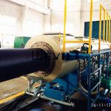 Chaîne de production en plastique de pipe d'extrusion de fourniture de gaz de PE