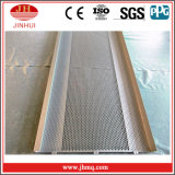 Orificio redondo doblados paneles perforados de aluminio soldado