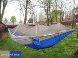 tenda di campeggio verde del Hammock di 260*140cm con la rete di zanzara
