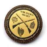 [هندمد] رخيصة أبو [دهبي] أثر قديم نوع ذهب إنجاز درع عسكريّة من إله تذكاريّة تحدي عملة