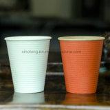 Personalizar el papel de pared doble taza con tapa