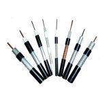 Câble coaxial RG6 1.02mm Cu, 96*0,12 mmal-Mg, 6,8 mm PVC noir avec 27 années d'expérience