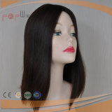Virgen de Brasil Seda Cabello peluca superior (PPG-L-0283)