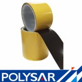 Papier cristal papier jaune du ruban adhésif noir pour la partie interne du téléphone