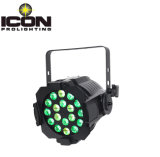 Luz de la IGUALDAD de la etapa de RGBWA+UV 6in1 18X12W LED con nuevo diseño