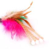 La lista de productos de exportación gracioso Feather Wand Teaser Cat juguetes en venta