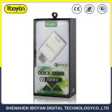 3.0A/2.0A/1.0A QC Teléfono móvil inteligente rápido para Samsung Cargador de pared