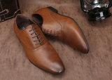 牛革人の服靴