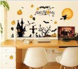 Glückliche Halloween-Vinylwand-Aufkleber für Kind-Raum-Fenster-Hintergrund-Ausgangsdekor-Plakat-Wandpapiere für