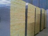 painel de sanduíche high-density de lãs de rocha 120kg/M3, espessura 50mm, 75mm, 100mm