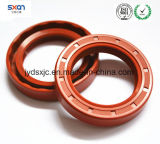 Guarnizione rotativa dell'asta cilindrica del doppio orlo della guarnizione della gomma di silicone