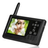 3.5 intercomunicador video sem fio caseiro esperto do Doorbell da cor da polegada TFT