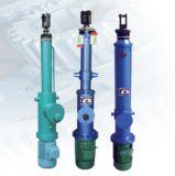 Elektrischer hydraulischer linearer Zylinder motorisierter elektrischer Putter-elektrischer Stellzylinder