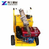 Divisor de piedra hidráulico con el motor diesel y eléctrico