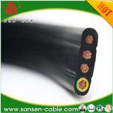 Cable plano flexible del elevador del PVC (H05VVH6-F, H07VVH6-F)