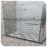 목욕탕 Windows 문을%s 매우 백색 유리 강화 유리 낮은 철