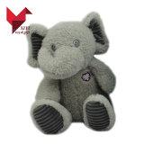 Peluche molle de logo fait sur commande de mode et jouets bourrés d'éléphant avec de grandes oreilles