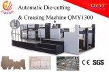 Automatische Flatbed Die-Cutting Machine voor Van golfkarton met de Voeder van de Rand van het Lood