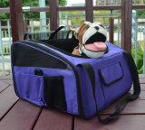 Haustier-Welpen-Hundeauto-Sitzträger mit Riemen