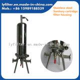 Edelstahl 10 '' Sanitory Filtereinsatz-Gehäuse für pharmazeutische sterile Wasser-Filtration