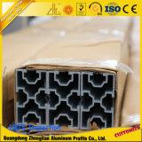 Aluminiumschlitz-Profil des strangpresßling-T für industrielles Fließband